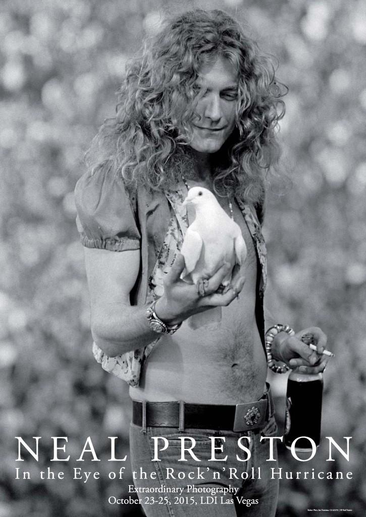 Robert Plant Poster Las Vegas