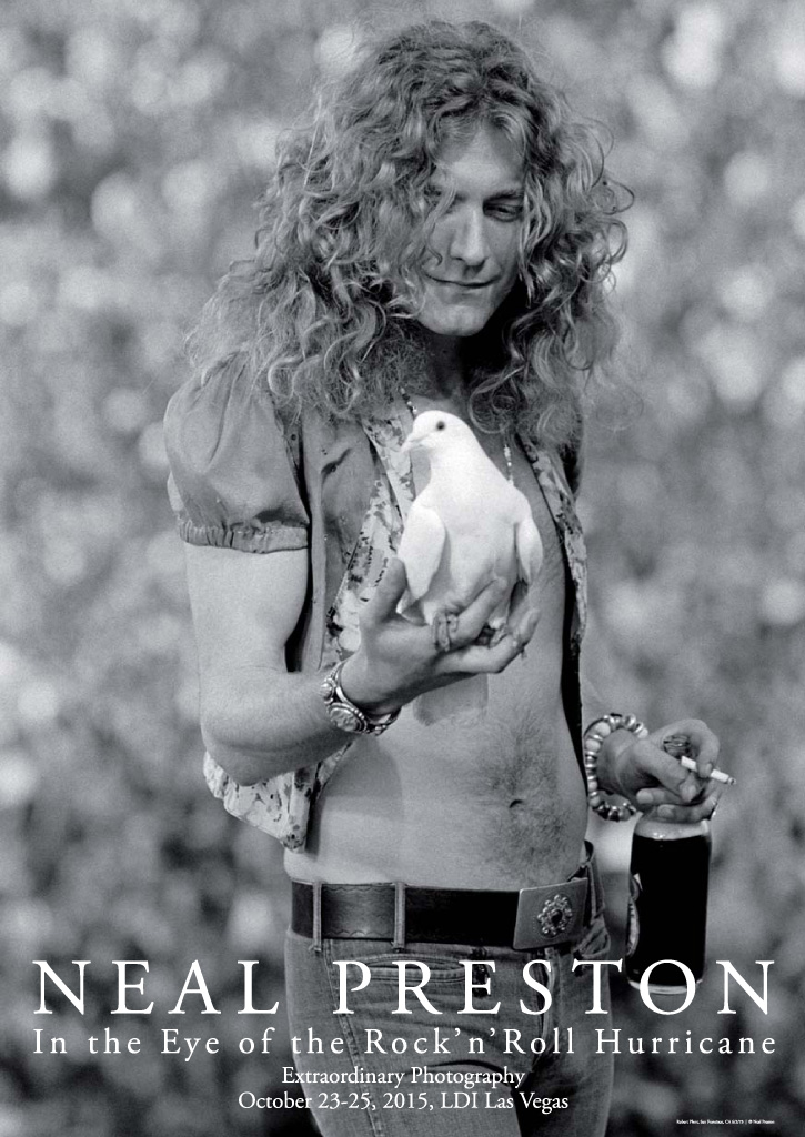 Robert Plant, San Francisco, 1973
